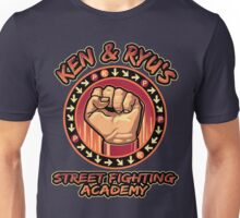 Ken and Ryu's Martial Arts Academy  Unisex T-Shirt