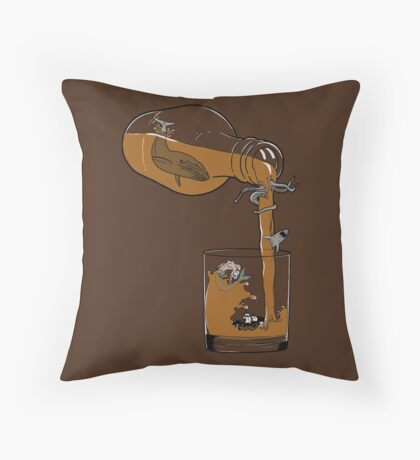 Sailor's delusions. Throw Pillow