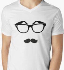 Patience Frames & Mo Men's V-Neck T-Shirt