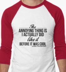 Annoying Thing 1 Men's Baseball ¾ T-Shirt