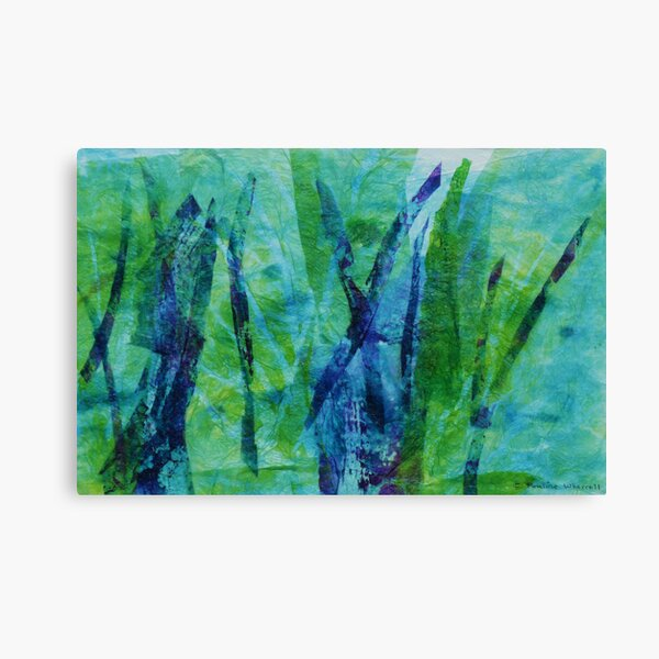 Reeds Abstract Canvas Print