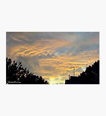July 2012 Sunset 18 Photographic Print