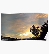 July 2012 Sunset 19 Poster
