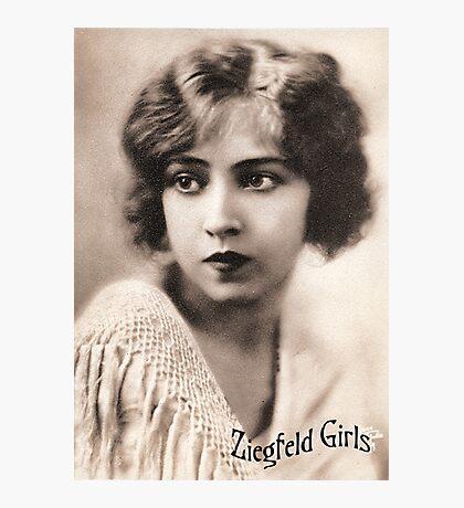 Ziegfeld Girls ... Doris Eaton Travis 1922 Photographic Print