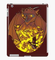 The Fire: an epic fight. iPad Case/Skin