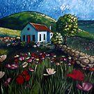 Poppy Field Cottage by Cherie Roe Dirksen