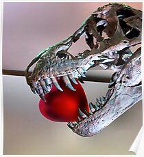 Jurassic Heart Poster
