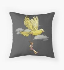 Higher, up to the sky!! Throw Pillow