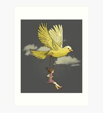 Higher, up to the sky!! Art Print