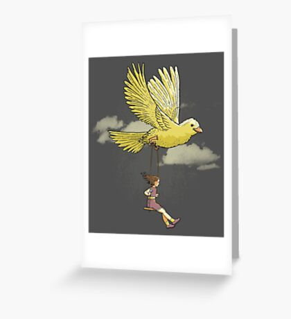 Higher, up to the sky!! Greeting Card