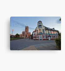 The Old Crown Hotel Doncaster in Colour. Canvas Print