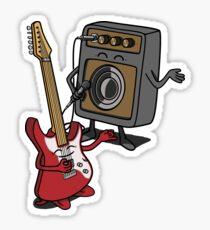 I wanna rock! Sticker