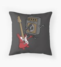 I wanna rock! Throw Pillow