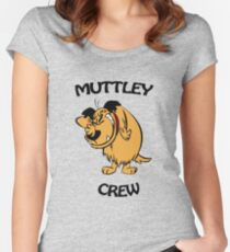 Muttley Crew  Women's Fitted Scoop T-Shirt