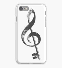 The G key. iPhone Case/Skin