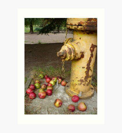 The Hydrant Art Print