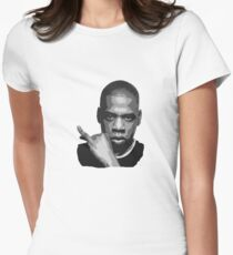 Jay Z Women's Fitted T-Shirt