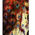 Miss Peacock - Iphone by Gal Lo Leggio