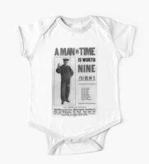A man in time is worth nine 002 Kids Clothes