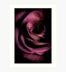 Some flowers are more perfect than others Art Print