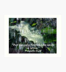 """Proverbs 11:28""  by Carter L. Shepard Art Print"