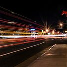 Bishop Light Trails by Cat Connor