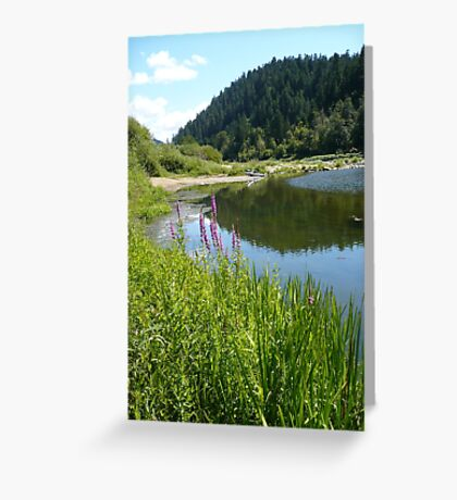 Perfect Day At The River Greeting Card