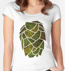 Hop Cone Women's Fitted Scoop T-Shirt