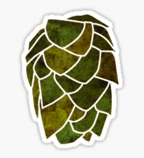 Hop Cone Sticker