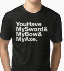 Jetset Fellowship (White) Tri-blend T-Shirt