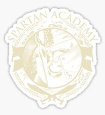 Spartan Academy Sticker
