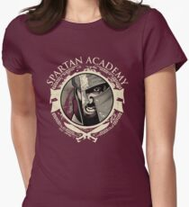Spartan Academy - Full Color Version Women's Fitted T-Shirt