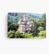 Grand house on Loch Lomond Metal Print