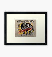 El Marrow. Framed Print