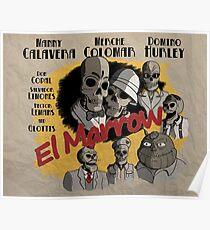 El Marrow. Poster