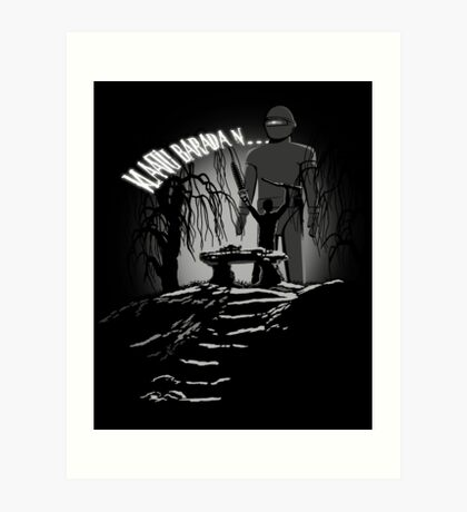 Klaatu Barada N... Art Print