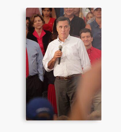 Mitt Romney Abashed Metal Print