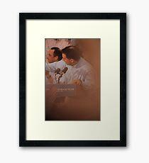 Scott Walkers Bald Spot Framed Print