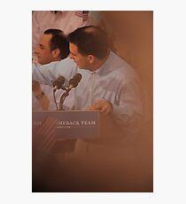 Scott Walkers Bald Spot Photographic Print