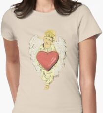 Angel t-shirt Womens Fitted T-Shirt
