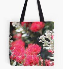 Pohutakawa Flowers, New Zealand Tote Bag