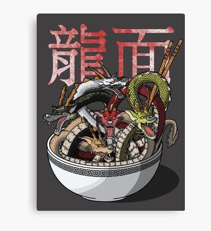 Dragon Noodles Canvas Print