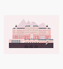 Grand Budapest Hotel  Photographic Print