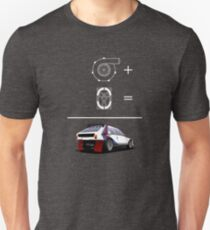 Forced Induction Equation 2 (White) T-Shirt