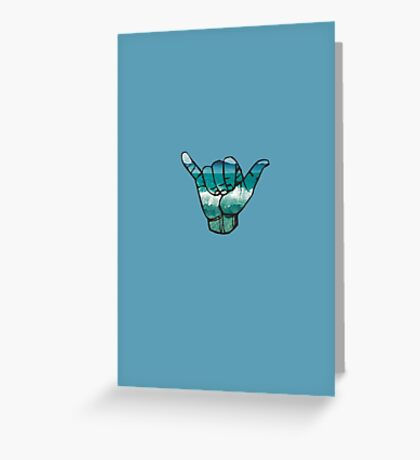 Shaka  Greeting Card