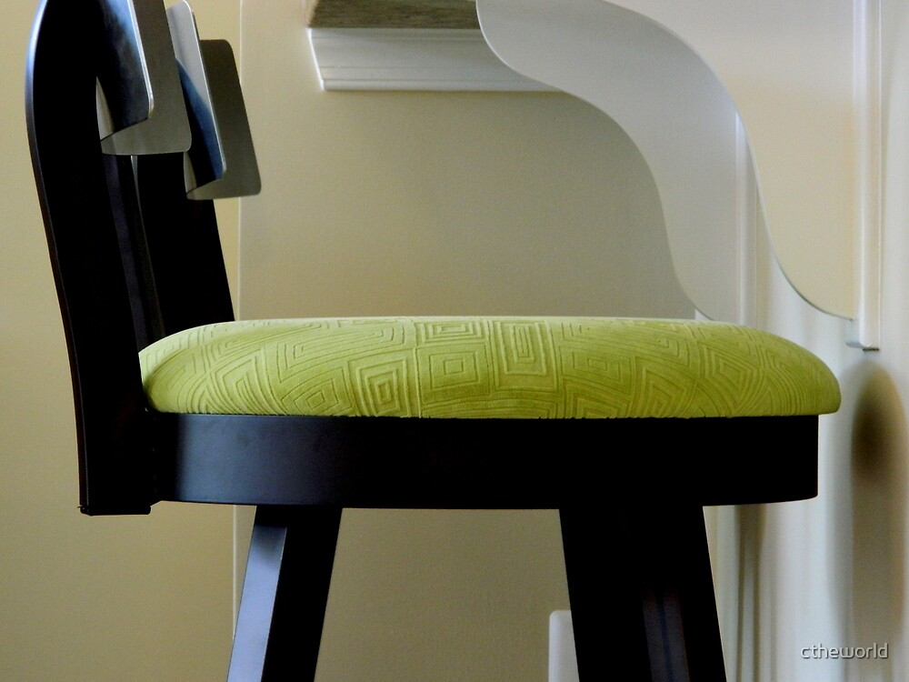 ABSTRACT - green chair   ^ by ctheworld