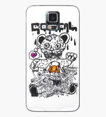 Comical Bear Hülle & Klebefolie für Samsung Galaxy