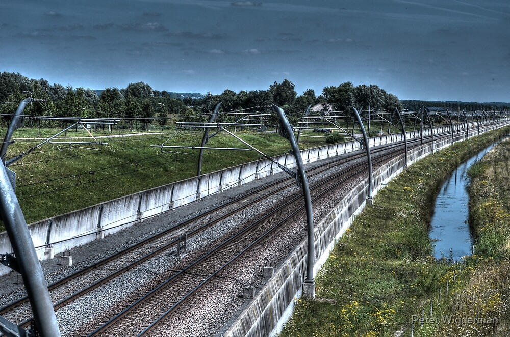 Railway by Peter Wiggerman