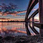 Sunset at Gateway by GeoffSporne