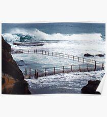 ocean pool I Poster